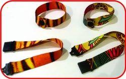 PVC Lucky Plastics Printed Wrist Bands