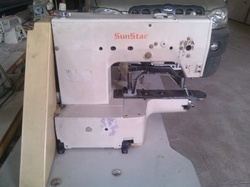 SunStar Brand Bartack Machine