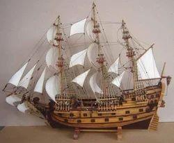 Ships Miniature Wood Craft