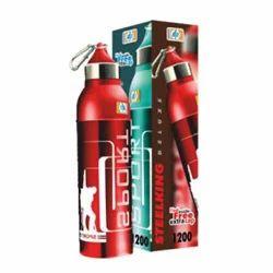 Steelking Deluxe 1200 Plastic School Kids Water Bottle