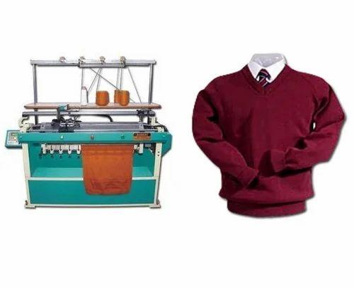 e67961893cbf Flat Knitting Machine for School Uniform - Bharat Machinery Works ...