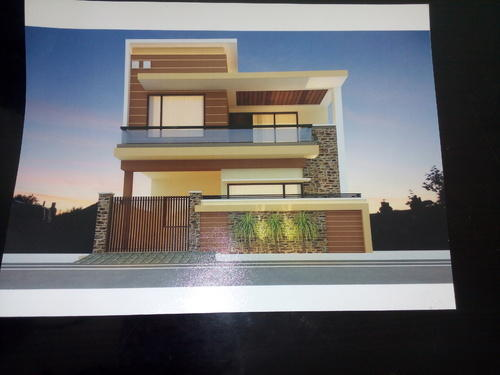 4bhk Beautiful House With 24 Hr Security In Toor Enclave In Bank
