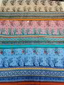 Sanganeri Jaipuri Screen Printed Fabric