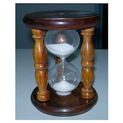 Nautical Wood Glass Sand Timer