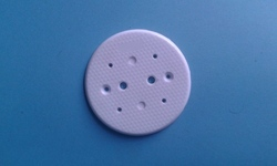 3 1/2  Round Sheet Electrical PVC Fitting