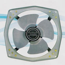 MS Gray Compact Ventilation Fan, For Industrial, Size: 150-300 Mm