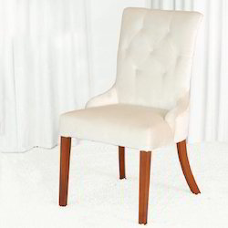 Linen Upholstered Dining Chair