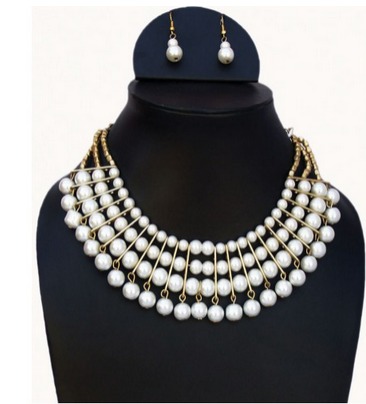 911b1158319 Stimulant Pearl Designer Western Necklace - Jewellery Addict