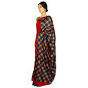 Hand Embroidered Pure Crepe Saree