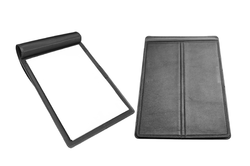 Black Leather Folder