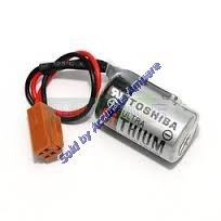 Toshiba 1-2AA Er3 3.6v Lithium Battery With Brown Connector