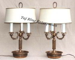 Brass Table Top Lamp