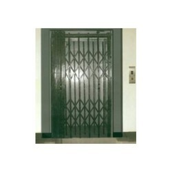 Collapsible Goods Lift Door