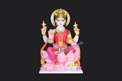 God Laxmi Marble Statue