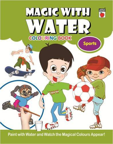 Magic Coloring with Water Sports, Christmas Coloring Book, Christmas ...