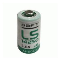 1/2 AA 3.6V Lithium Battery Saft LS 14250