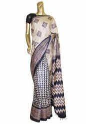 Handloom Printed Silk Sarees