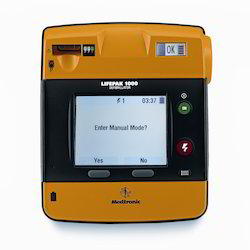 Physio-Control AED Lifepak 1000 Defibrillator (with Rechargeable Battery), ICU and Emergency