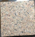 Thin Slab Crystal Yellow Granite Slabs, Thickness: 5-15 Mm