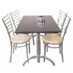 Wonderful Metal Furniture Suppliers · Metal Dining Set · Stainless Steel Dining Table Part 23