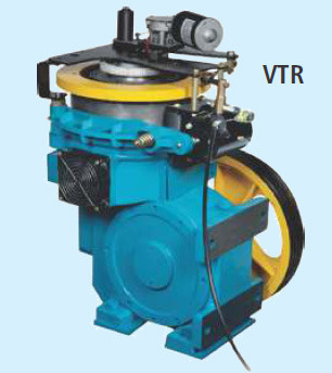 Vertical Traction Machine Unit