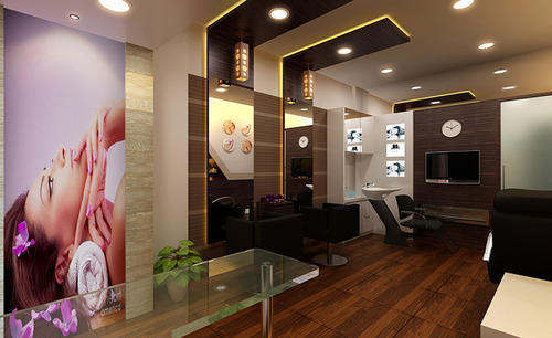 Beauty Salon Interior Designing In Laxmi Nagar Pune Creative