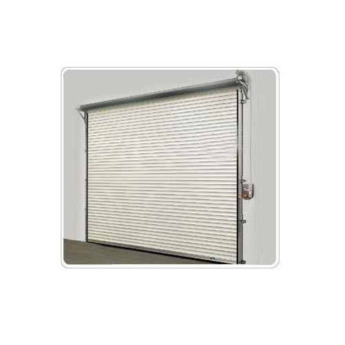 Full Height Wood Motorised Rolling Shutter