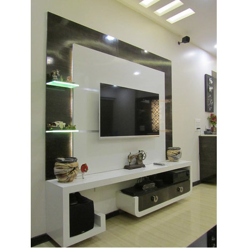 View Specifications Details Of Modern: LCD Unit - View Specifications & Details Of Lcd Tv Cabinet By Xena Design, Thane
