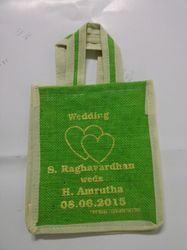 Wedding Printed Jute Bag