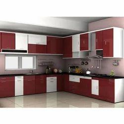 Standard Wooden Modular Kitchen