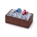 Pin Cushioned Sewing Box