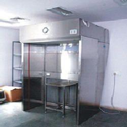 Powder Sampling Booth