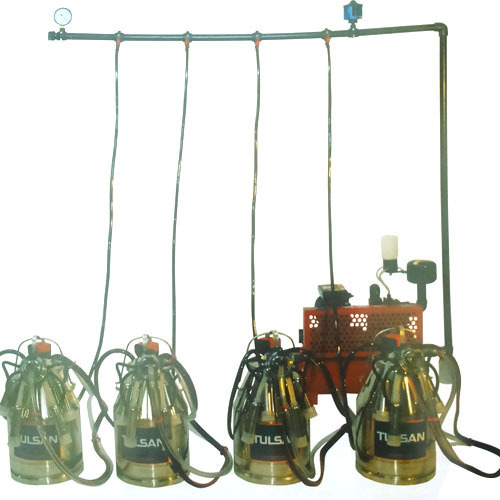 Fixed Model Milking Machine 8 Buckets
