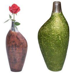 Stylish Aluminum Flower Vase