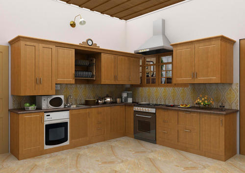 Wooden Designer Modular Kitchen Rs 550 Square Feet Creative Enterprises Id 6584287112
