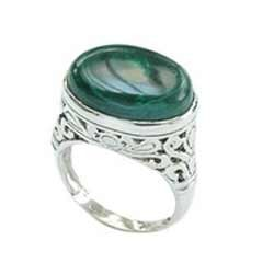 Malachite Stone Ring