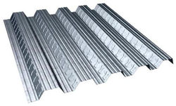Pushpak Steel Decking Sheets, Thickness: 0-1 mm