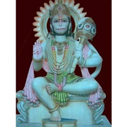 Lord Hanuman Ji Giving His Blessings