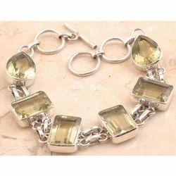 Blushing Lemon Quartz Bracelet