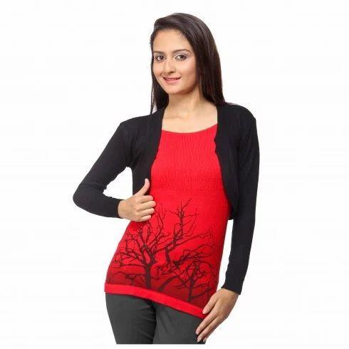 Woolen Tops Baggy Sleeves Style Woolen Top Importer from New Delhi. Top Design Photo