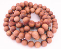 15 MM andalwood Loose Beads Japa Mala