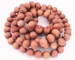 15 MM andalwood Loose Beads Japa Mala