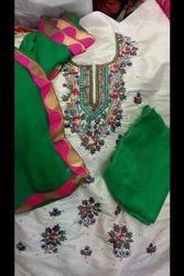 Cotton Phulkari Suit