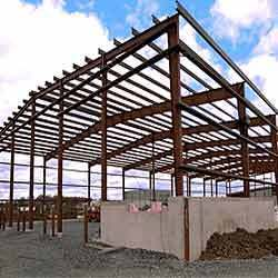 Industrial MS Structural Fabrication