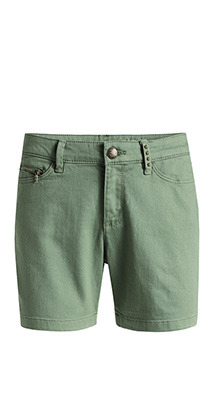 Ladies Shorts, Color: Green