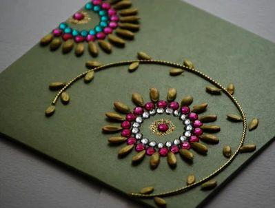 Greeting cards handmade birthday card retailer from ahmedabad stylish handmade cards m4hsunfo