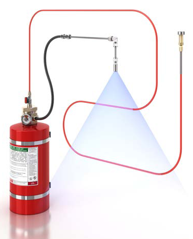 Best Home Alarm Systems >> Automatic Fire Suppression System - Firedetec Fire Suppression System Manufacturer from Gurgaon