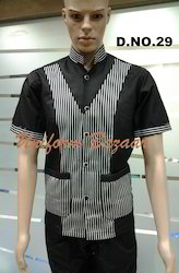 Black Lining Restaurant Uniform