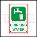 592098 Sign Name Plate - Drinking Water