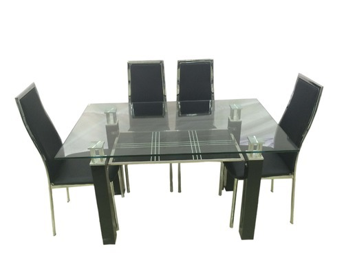 Super Axis 1 4 Dining Table Sets Four Seater Wooden Metal Evergreenethics Interior Chair Design Evergreenethicsorg